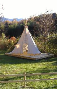 tipi camp angel